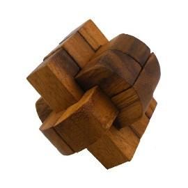 Puzzle de Madera Cruz Doble