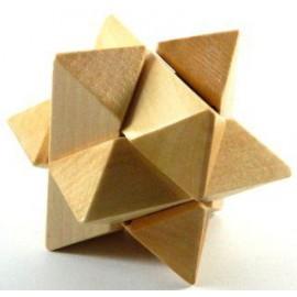 Puzzle de Madera de Haya Estrella
