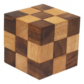 Puzzle Cubo de Madera Pequeño