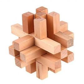 Puzzle de Madera Cinco en Punta