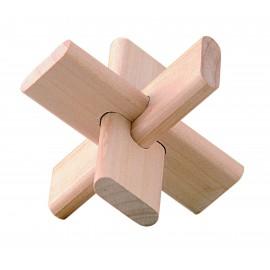 Puzzle de Madera Tres Piezas Pequeño