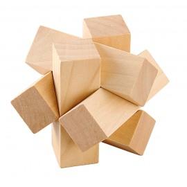 Mini Puzzle de Madera de Haya Nudo