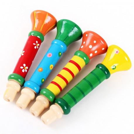 Trompetas de Madera