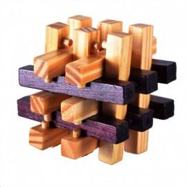 Puzzle de Madera de Haya Cubo Trampa