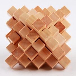 Puzzle de Madera de Haya Cristal Japones
